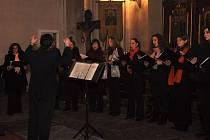 Sbor zazpívá vánoční písně z Ruska, Ukrajiny i Řecka