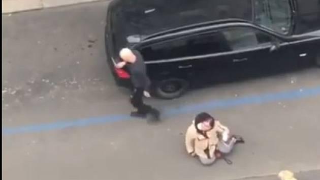Řidič alternativní taxislužby vyvlekl nevidomou ženu z auta kvůli vodicímu psu.