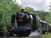 Parní lokomotiva Kremák.