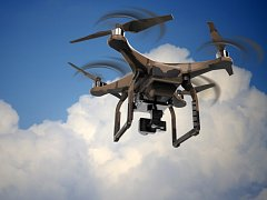 Dron. Ilustrační foto.
