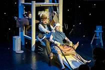 Divadlo Kampa v sobotu uvádí online pohádku Heidi, děvčátko z hor.