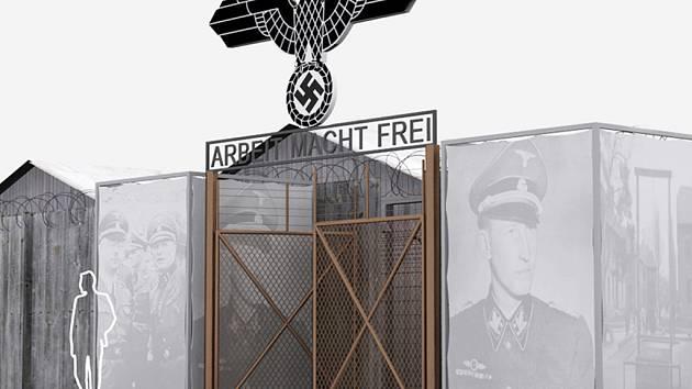 """Koncentrační tábor na Karlově náměstí v Praze bude kulisou netradiční výstavy """"Atentát na Heydricha - 70""""."""