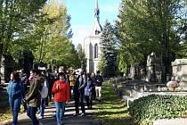 Komentovaná prohlídka Vinohradského hřbitova.