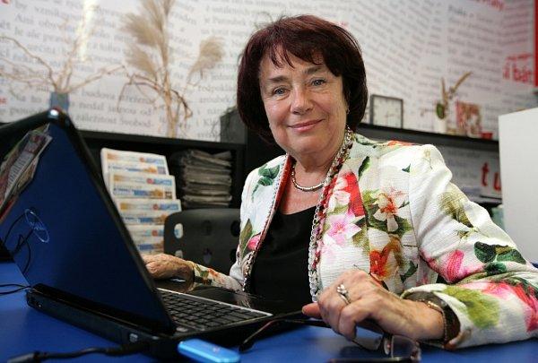 Eva Syková při online rozhovoru