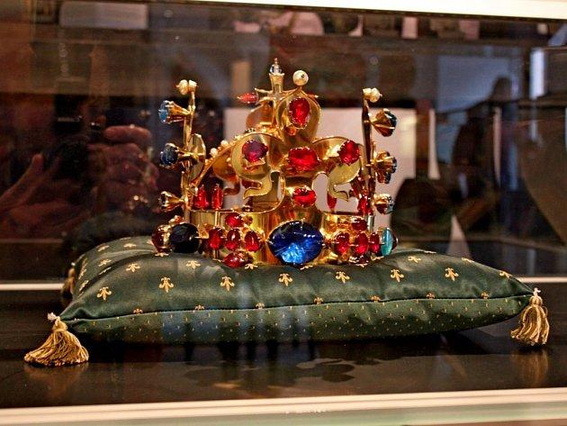 Kopie Svatováclavské koruny.