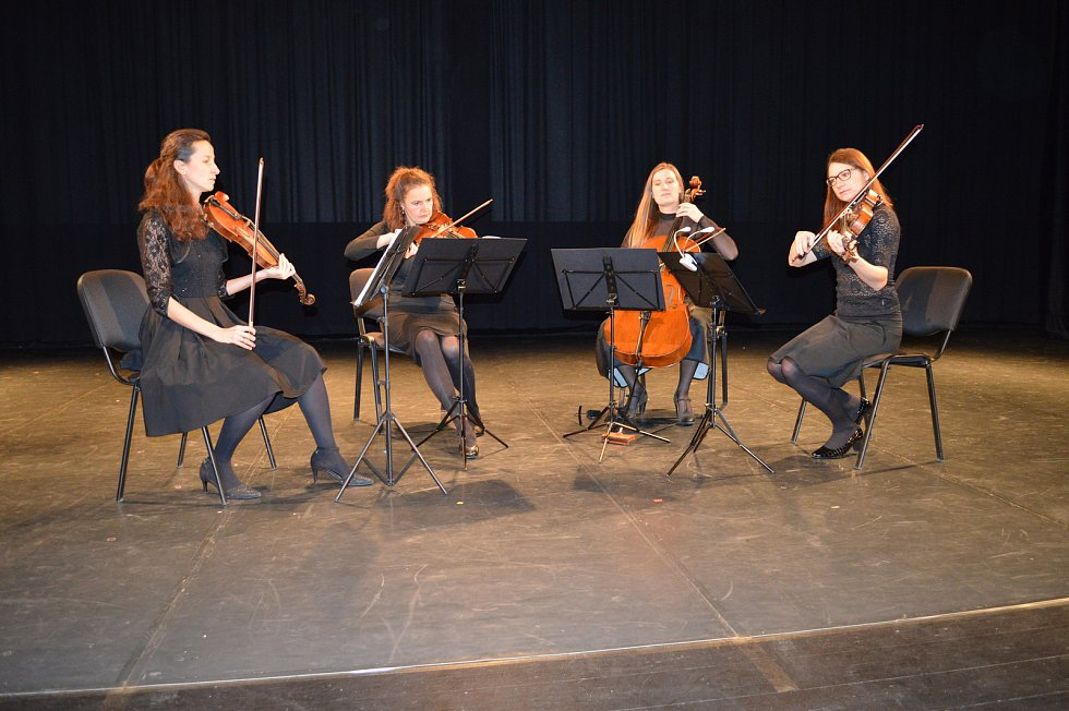 Smyčcové kvarteto Eve Quartet.