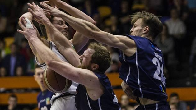 Basketbalisté USK Praha.