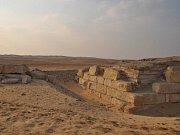 Hrobka královny Chentkaus III., kterou objevili čeští egyptologové