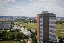 Pražský Rohanský ostrov a hotel Olympik