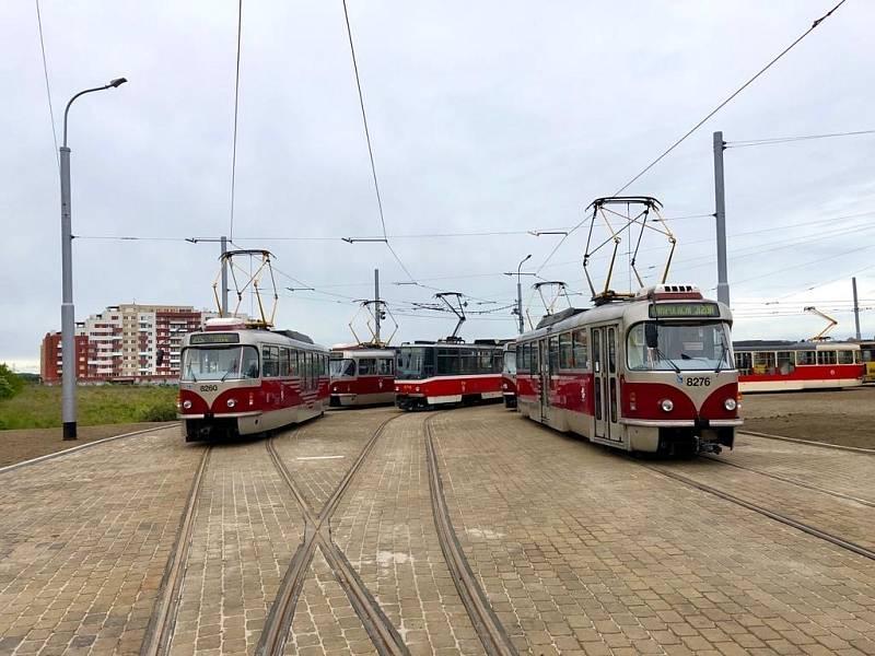 DPP zahájí druhou etapu rekonstrukce tramvajové tratě v Nádražní ulici, zavede ostrovní provoz tramvají mezi Barrandovem a Hlubočepy.