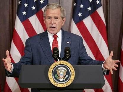 Americký prezident George W. Bush