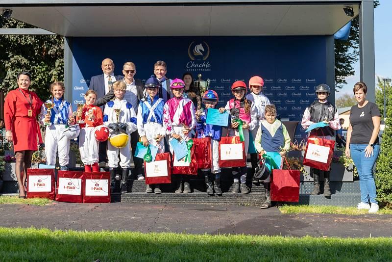 Dostih poníků a udělení cen vítězce a ostatním účastníkům.
