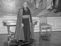 Kardinál Josef Beran na archivním snímku.
