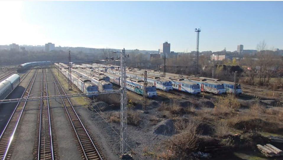 Odstavné nádraží Jih.