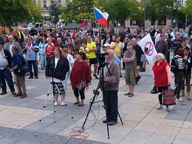 Demonstrace hnutí Úsvit a Bloku proti islamizaci