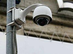Bezpečnostní kamera. Ilustrační foto.