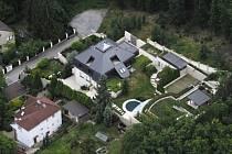 Krejčířova vila v Černošicích.
