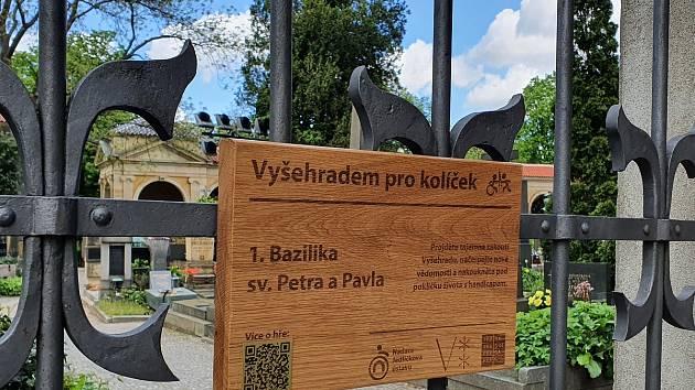 Přispět Nadaci Jedličkova ústavu lze absolvováním stopovací hry Vyšehradem pro kolíček.