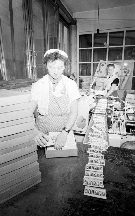 Orion – V roce 1958 začala čokoládovna Orion vyrábět novou 50 gramovou čokoládu s nugátovou příchutí jménem Milada