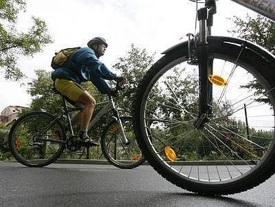 Dnes byl oficiálně předán do provozu nově vzbudovaný úsek cyklostezky Modřany-Zbraslav