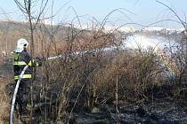 Jedním z mnoha požárů porostu, které pražští hasiči likvidují v nynějších teplých a suchých dnech, byl oheň v travnatém a křovinatém porostu na okraji sídliště na Jižním Městě. Ve čtvrtek 13. března 2014 odpoledne zachvátil plochu odhadem 250×250 metrů.