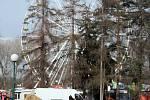 Přípravy na Matějskou pouť, která se v roce 2015 uskuteční na Výstavišti v Holešovicích od 28. února do 19. dubna.