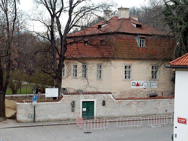 Werichova vila na pražské Kampě.
