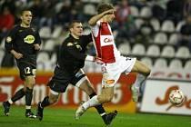 Po výhře 2:1 nad Bohemians 1905 budou všichni sledovat, zda Slavii  zůstane pětibodový náskok.