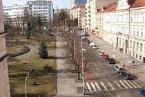 Ulice Táborská.