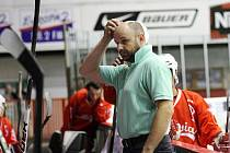 Trenér inline hokejistů pražské Slavie Ladislav Nový.