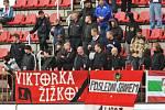 VRÁTÍ SE DOMŮ? Fanoušci FK Viktoria Žižkov nemohou fandit fotbalistům na stadionu v Praze 3. Zastupitelstvo rozhodne o případném návratu.