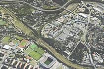 Návrh urbanistické studie Bohdalec - Slatiny - brownfield Strašnice