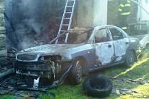 V Dalešicích hořel přístavek u domu, při požáru vznikla škoda téměř půl milionu korun