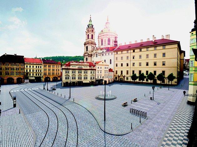 Malostranské náměstí.