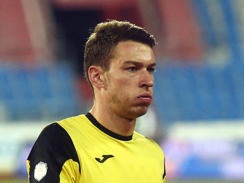 Fotbalový brankář Jiří Pavlenka.