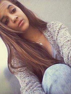 Hledaná dívka.
