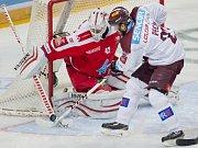 Hokejový zápas Sparta - Olomouc.