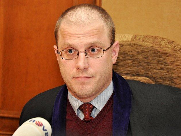 Soudce Robert Pacovský.