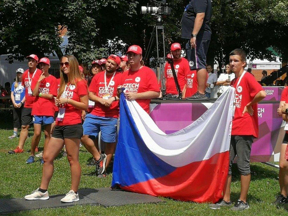 Olympijský festival se odehrává v pražské Stromovce v areálu Olympu.