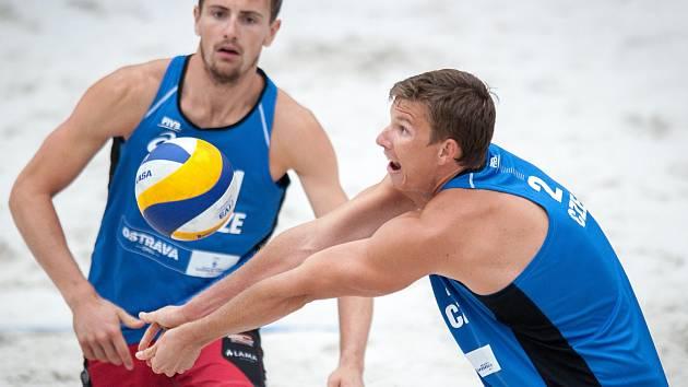 Čeští reprezentanti (zleva) Ondřej Perušič a David Schweiner.