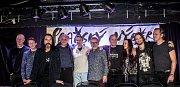 Tisková konference kapely Pražský výběr