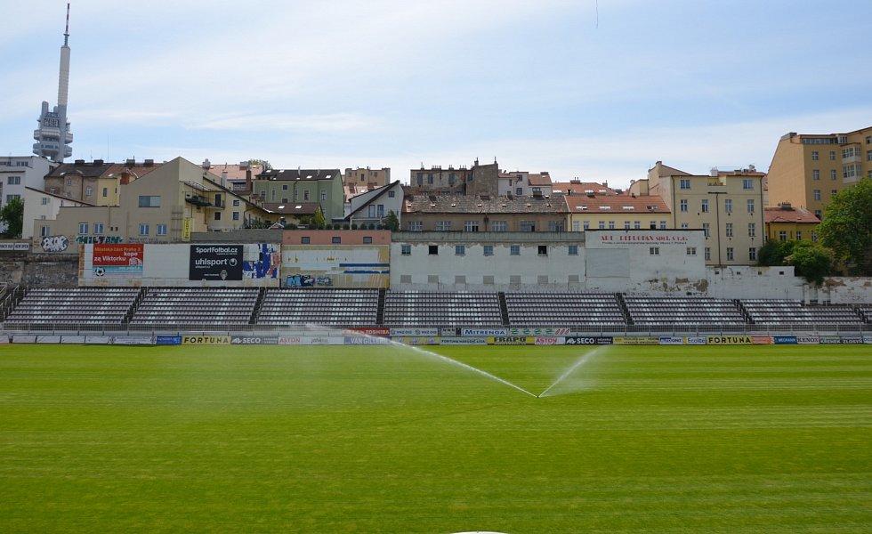 Stadion Viktorky Žižkov.