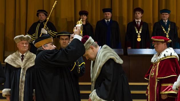 Inaugurace rektora České zemědělské univerzity.