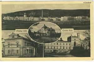 Historický pohled z Dolní Krče.