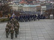 Slavnostní a pietní akt ke Dni válečných veteránů se konal ve středu 11. listopadu 2015 na pražském Vítkově.