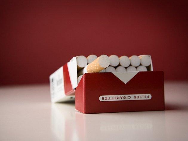 Krabička cigaret. Ilustrační foto.
