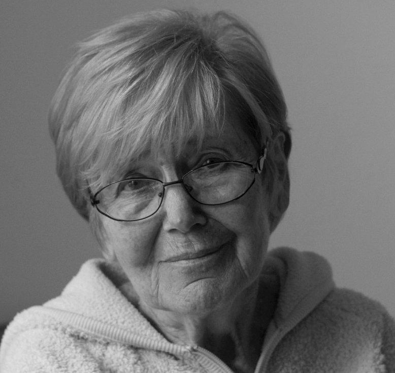 Eva Macourková, rozená Sachselová.