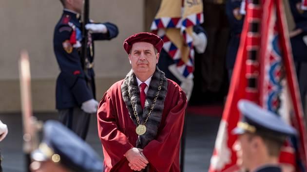 Rektor UK Tomáš Zima.