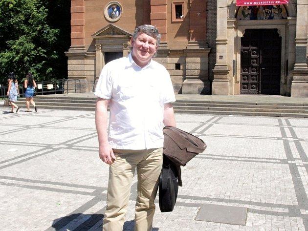 Jijlí Gloser pracuje pro krizový štáb hasičského záchranného sboru Středočeského kraje už od roku 2002