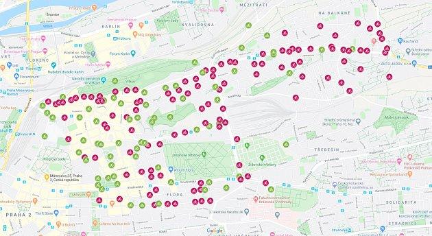Praha 3rozšiřuje systém preferovaného parkování kol na území městské části. Navzala ho CYRIL.